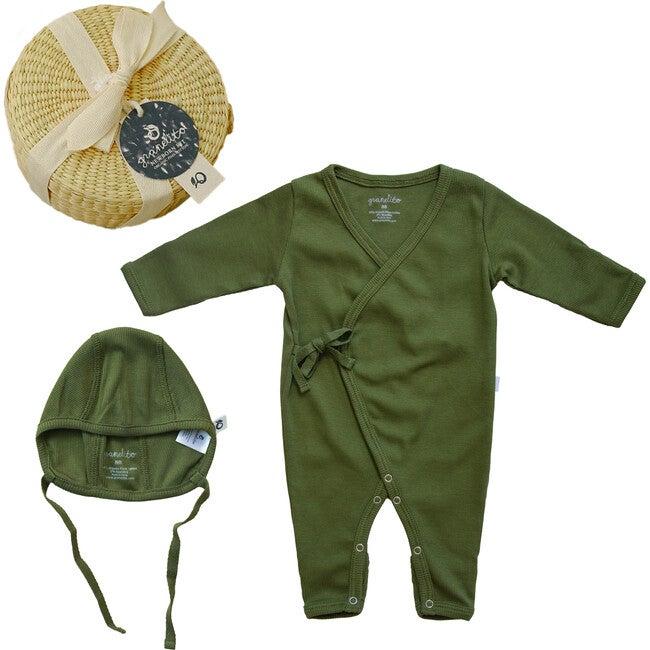 Ribbed Baby Kit Mini, Olivine