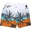 Men's Beach Band Swim Trunks, Long - Swim Trunks - 2
