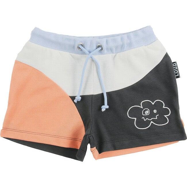 Full Color Block Shorts, Multi