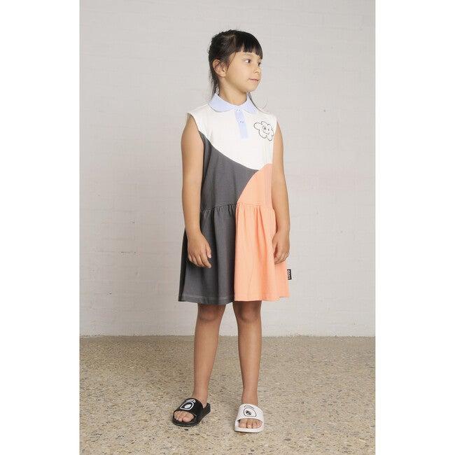 Glow Sporty Dress, Colour Block