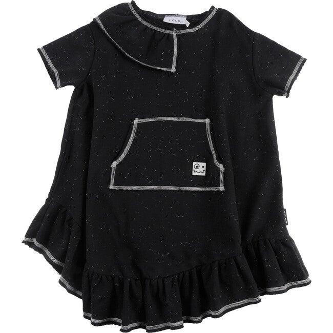 Royal Dress, Black Neppy