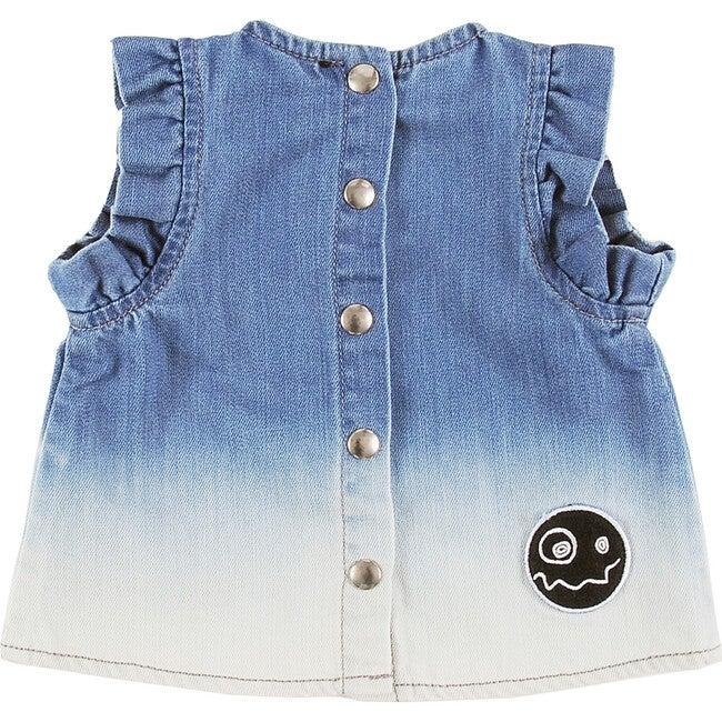 Playful Vest, Bleach Blue