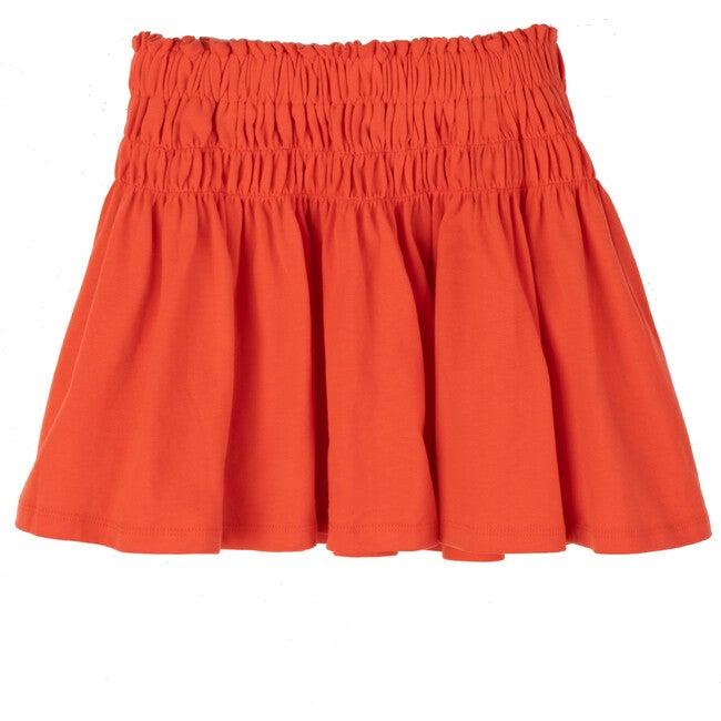 Robyn Jersey Skirt, Poppy Red