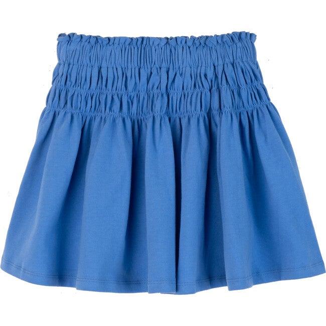 Robyn Jersey Skirt, Cornflower Blue