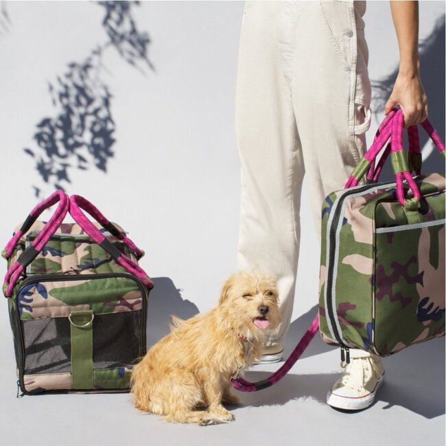 Out-of-Office Carry-All, Camo and Magenta