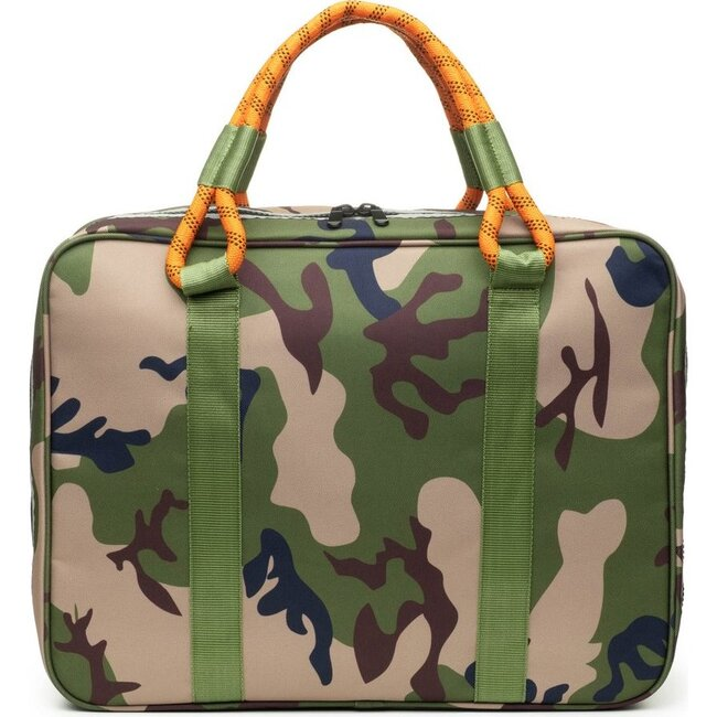 Out-of-Office Carry-All, Camo and Orange