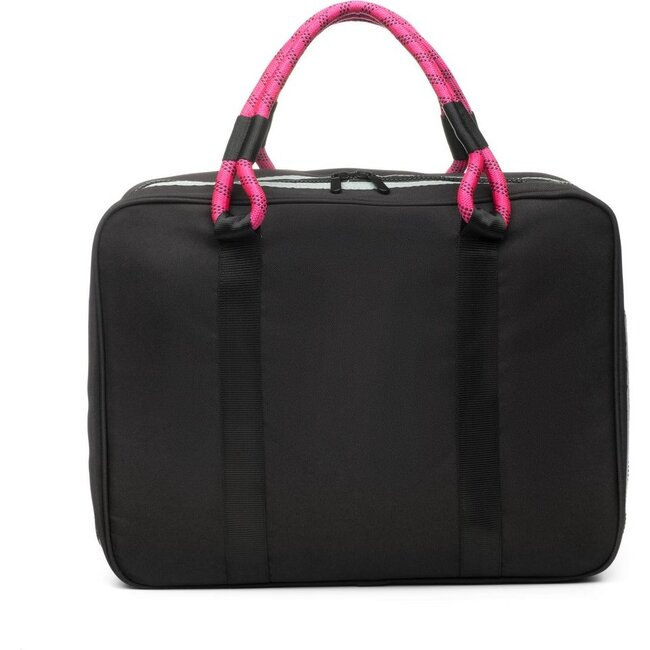 Out-of-Office Carry-All, Black and Magenta