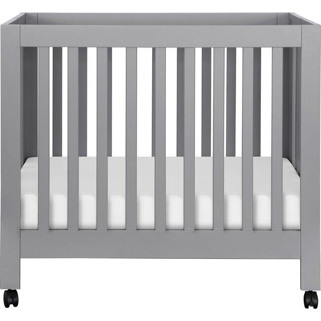 Origami Mini Crib, Grey