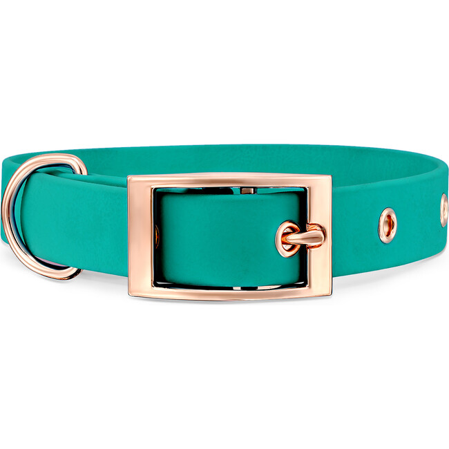 Collar, Rose Gold and Turquoise