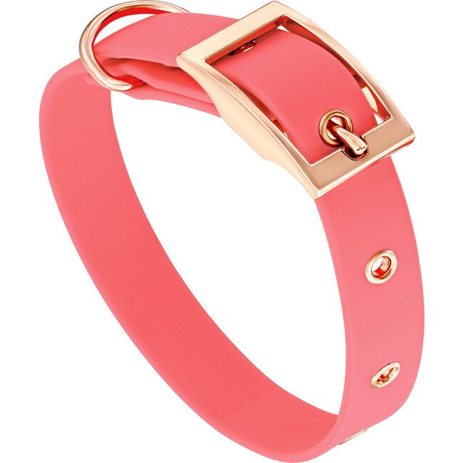 Collar, Rose Gold and Coral