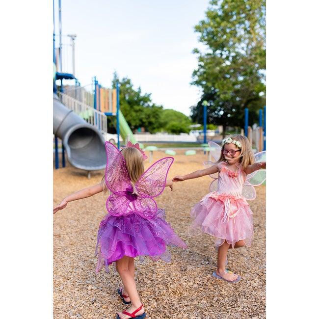 Purple Blossom Fairy Wings