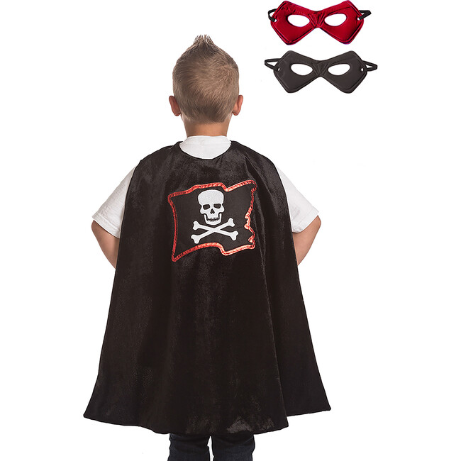 Pirate Cape & Mask Set
