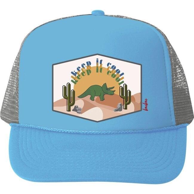 Keept It Cool Hat, Blue - Hats - 1