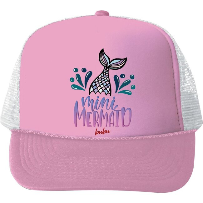 Mini Mermaid Hat, Light Pink - Hats - 1