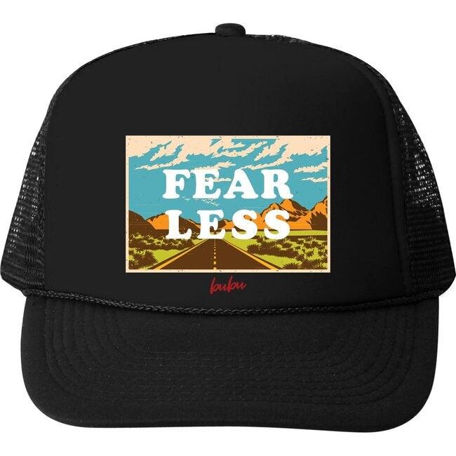 Fear Less Hat, Black - Hats - 1