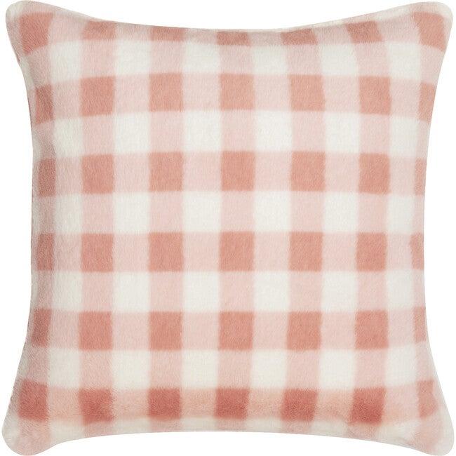 Ramona Pillow, Pink Gingham