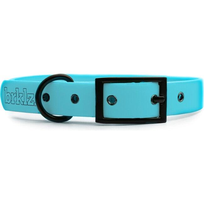 Collar, Matte Black and Blue