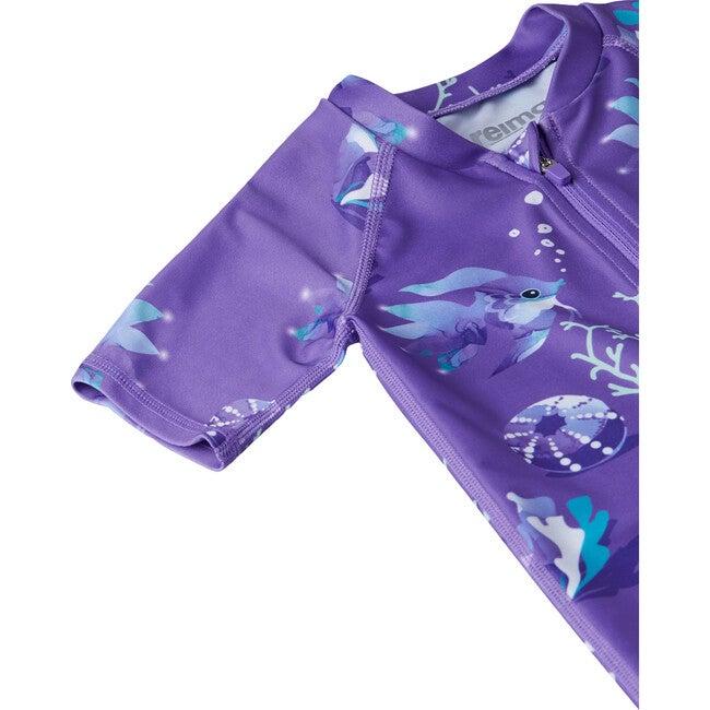 Atlantti Swim Overall, Purple
