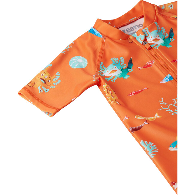 Atlantti Swim Overall, Orange