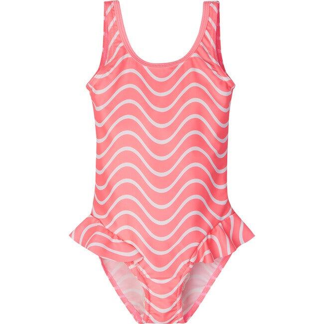 Korfu Swimsuit, Neon Pink