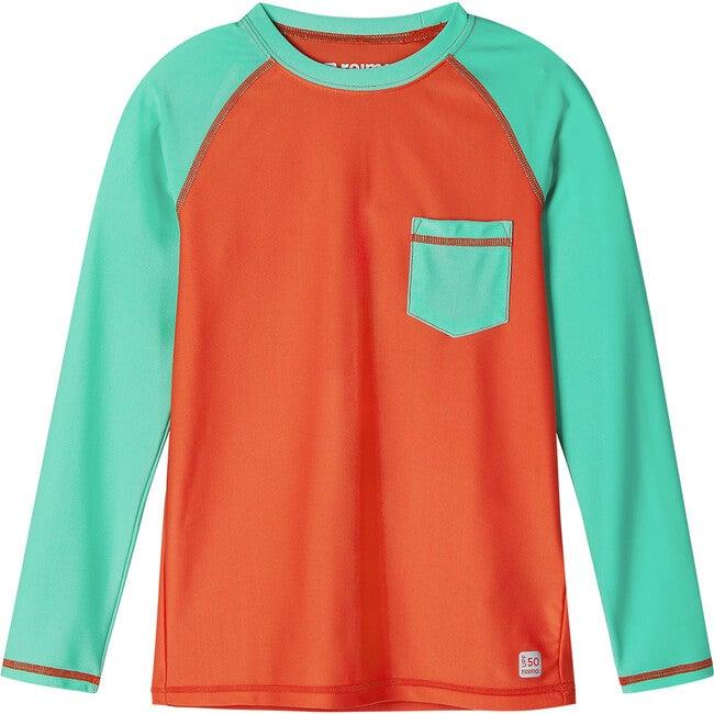 Kroolaus Swim shirt, Orange