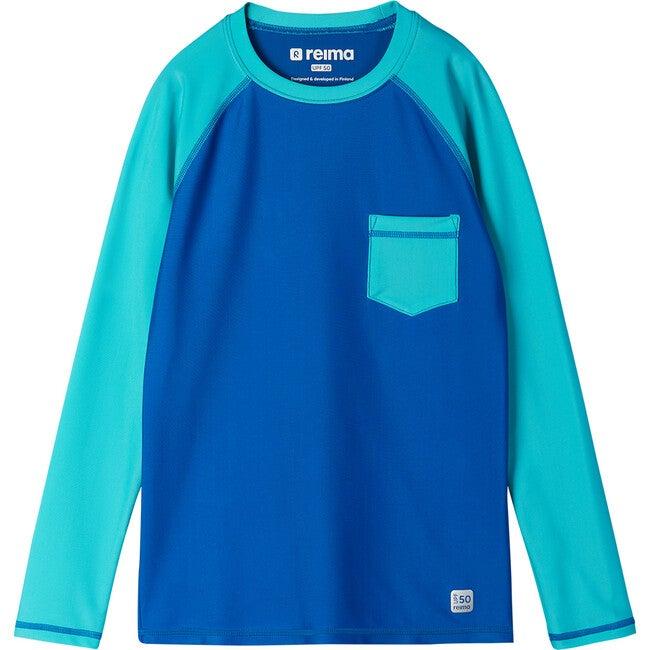 Kroolaus Swim shirt, Blue
