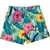Tropi Leaf Men's Swim Trunks, Mid - Swim Trunks - 1 - thumbnail