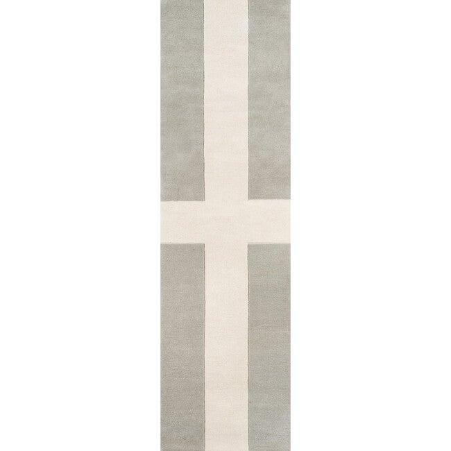 Delmar Chevalier Hand-Tufted Wool Rug, Grey