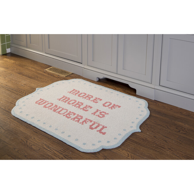 More of More Is Wonderful Accent Rug, Multi
