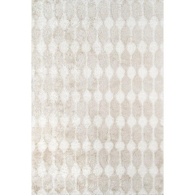 Retro Stockings Hand-Tufted Rug, Taupe