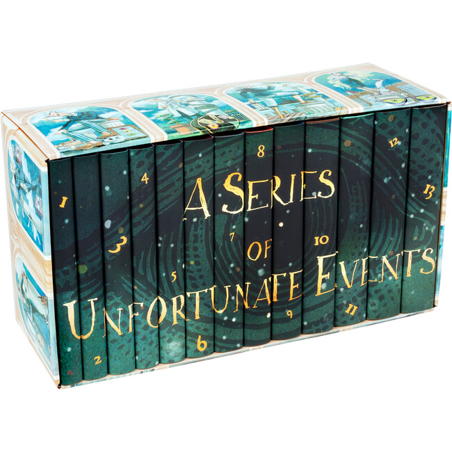Lemony Snicket's A Series of Unfortunate Events Set