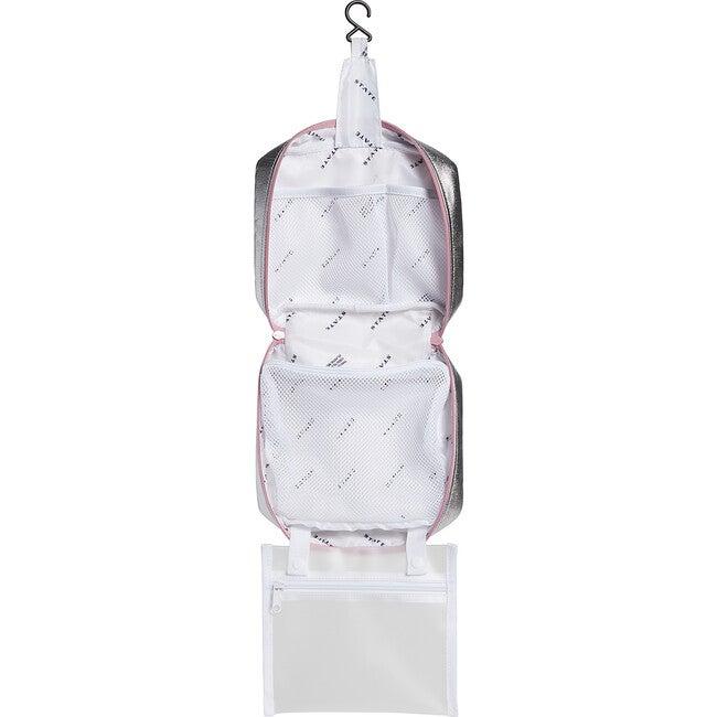 Bensen Dopp Kit, Pink and Silver