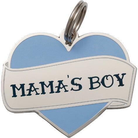 Mama's Boy Pet ID Tag