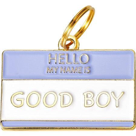 Good Boy Pet ID Tag
