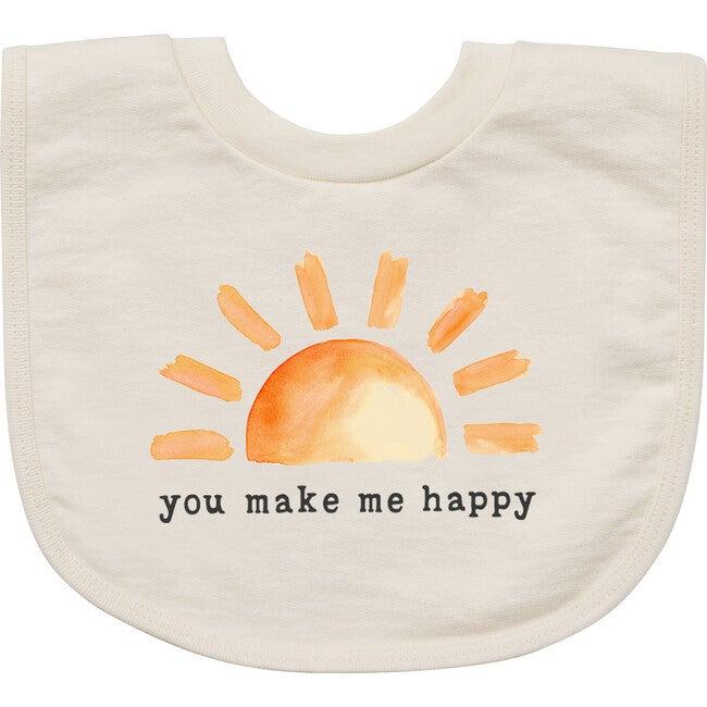You Make Me Happy Bib