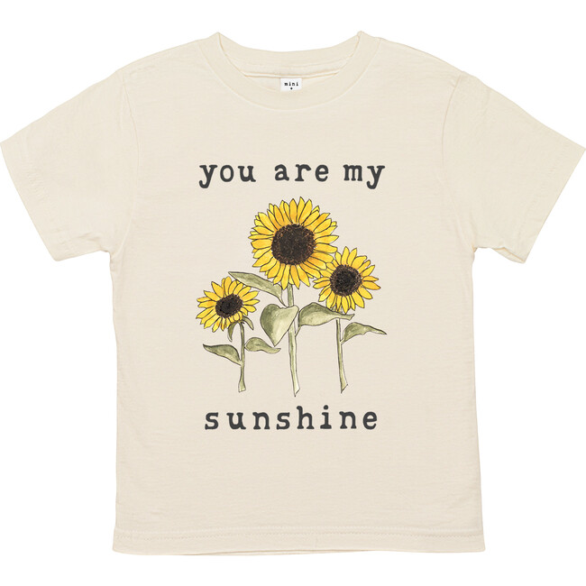 You Are My Sunshine Unbleached Toddler Tee - Tees - 1