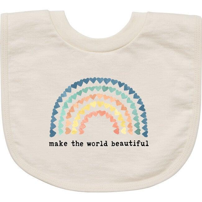 Make The World Beautiful Bib