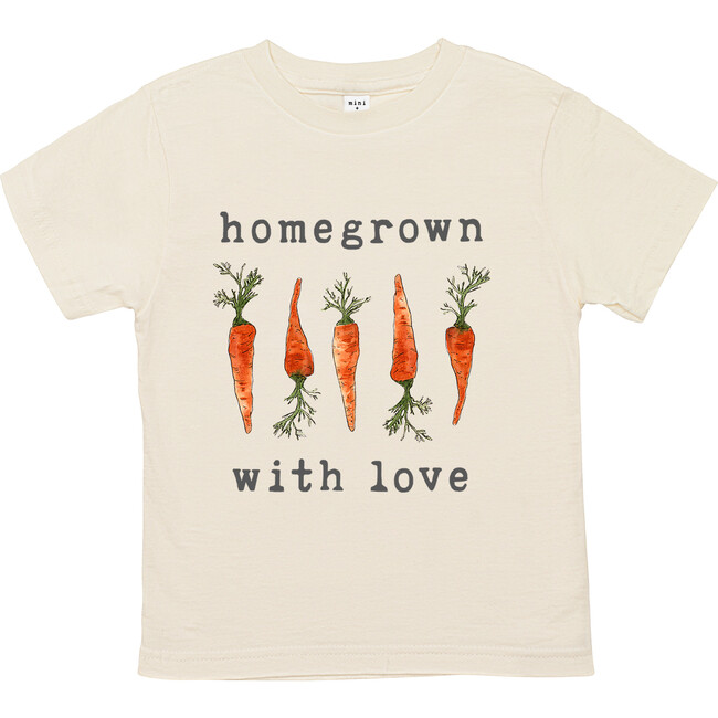 Homegrown With Love™️ - Carrot Edition Unbleached Toddler Tee