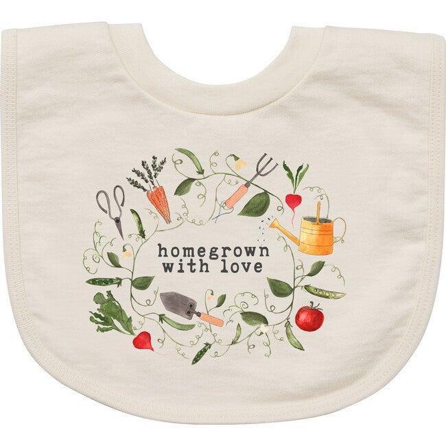 Homegrown With Love™️ - Gardening Edition Bib