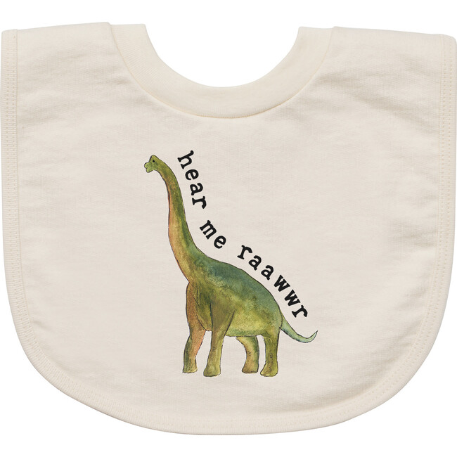 Hear Me Rawr - Dino Edition Bib