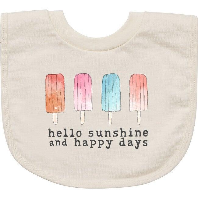 Happy Days Bib