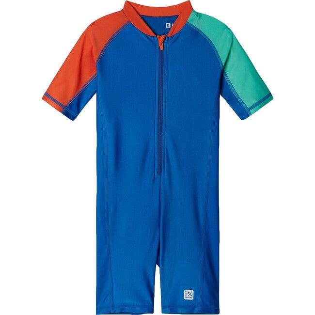 Vesihiisi Swim overall, Brave Blue