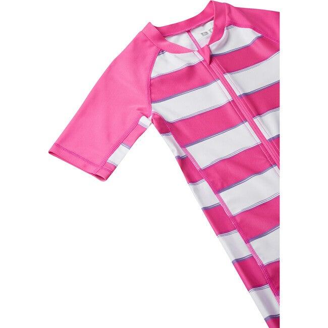 Vesihiisi Swim Overall, Fuschia Pink