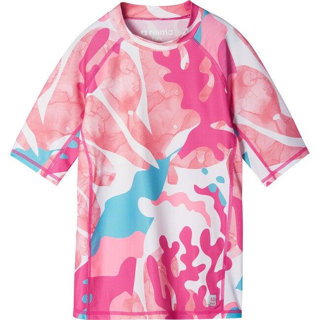 Joonia Swim shirt, Fuchsia Pink - One Pieces - 1
