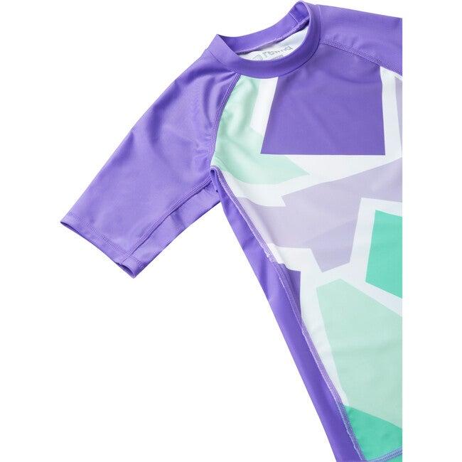 Joonia Swim shirt, Vivid Violet
