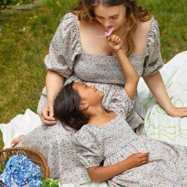 Celine Women's Smocked Dress, Flower Garden