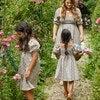 Celeste Smocked Dress, Flower Garden - Dresses - 2