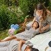 Celeste Smocked Dress, Flower Garden - Dresses - 4
