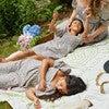 Celeste Smocked Dress, Flower Garden - Dresses - 6