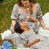Celeste Smocked Dress, Flower Garden - Dresses - 7